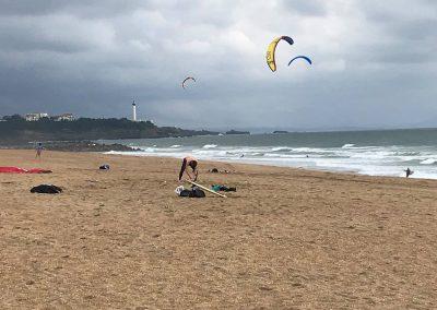 anglet-plage-kitesurf-vent